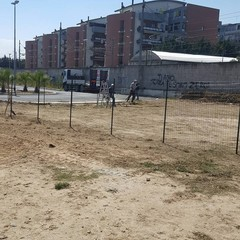 Area di sgambamento a Villa Bini