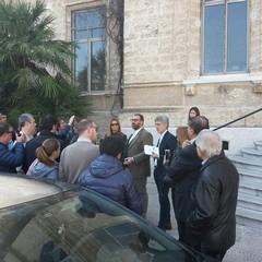 Caso Lampare, conferenza stampa Procacci