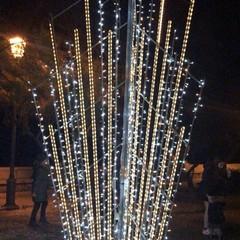 Luminarie in Villa Comunale