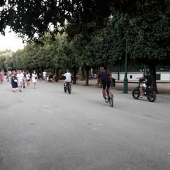 Biciclette elettriche in villa