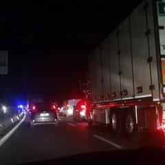 Incidente sulla Statale 16bis: traffico in tilt