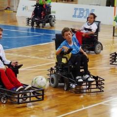 Calcio in carrozzina