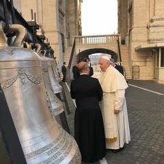Benedizione delle campane della chiesa di San Magno