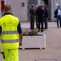 Inaugurazione uffici Amiu presso l'ex ricicleria