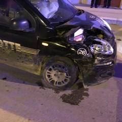 Incidente in via Papa Giovanni