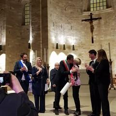 Laura Escalada in Cattedrale