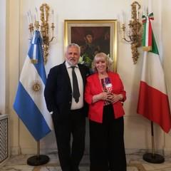 Festival del Tango, Ambasciata argentina