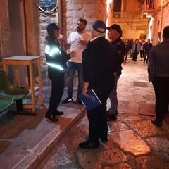 Controlli Polizia locale e di Stato nei locali della movida notturna