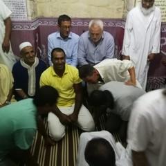 Bottaro e Di Lernia con la comunità islamica
