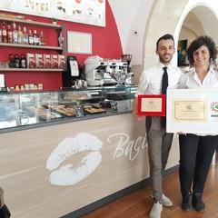 """La caffetteria di Trani """"Bacio Nero"""" è tra le """"Eccellenze Italiane"""""""