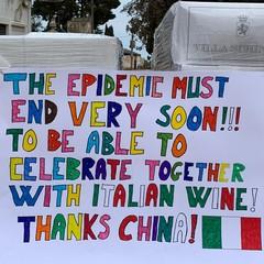 Donazione vino