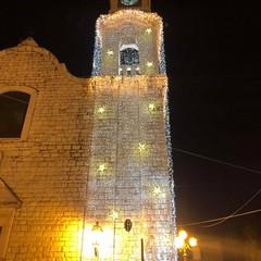 Accensione campanile di San Rocco