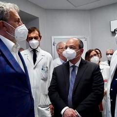 Inaugurazione tac e angiografo al Bonomo