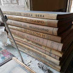 Volumi della ex biblioteca