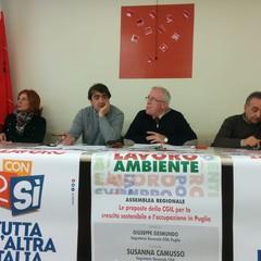Cgil Bat, presentata la campagna a sostegno dei referendum sul lavoro