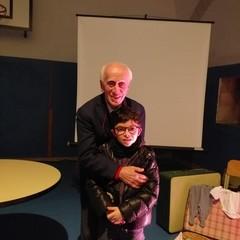 Ugo Foà alla scuola D'Annunzio di Trani