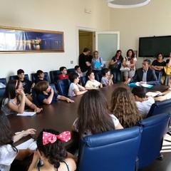 Studenti della Beltrani incontrano il sindaco