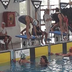 Allo Swimming contest la tranese Flavia Labianca