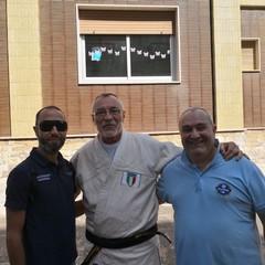Judo Trani e Associazione Falchi all'Istituto San Paolo