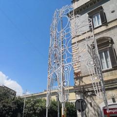 Telecamera tra le luminarie