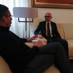 Incontro sindaco Bottaro e Francesco Disalvo