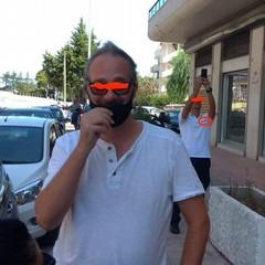 Esibizione bloccata in via Bari