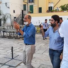 Matteo Salvini a Trani