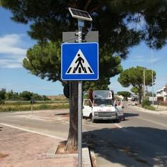 Nuova segnaletica in via Martiri di Palermo