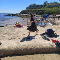 Pulizia spiagge e fondali a Trani