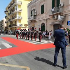 Inaugurazione comando dei Carabinieri di Trani