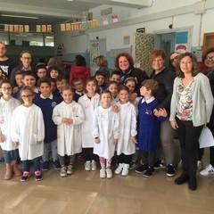 Studenti della scuola d'Annunzio