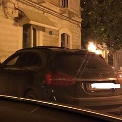 Parcheggio selvaggio il sabato sera