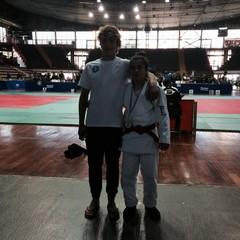 Gli atleti della Judo Trani