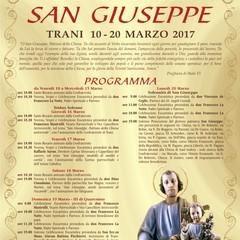 programma festa San Giuseppe 2017