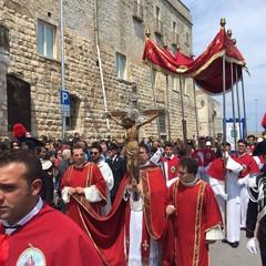 L'imbarco e lo sbarco del Crocifisso di Colonna - 2017