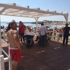 Inaugurazione Pedana disabili alla Baia del Pescatore