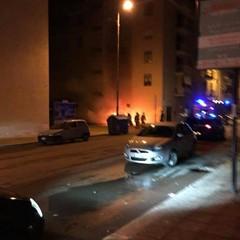 Incendio in via Superga