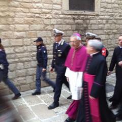 Accoglienza di Monsignor d'Ascenzo a Trani