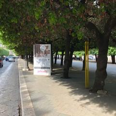 Impianto abusivo in Piazza della Repubblica