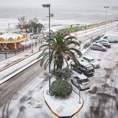 Neve a Trani - 4 gennaio 2019