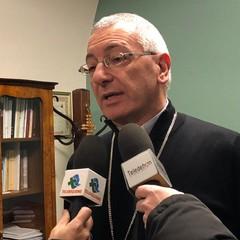 Conferenza stampa con Monsignor Leonardo D'Ascenzo