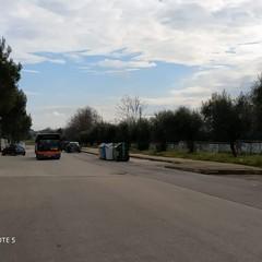 Circolare nel quartiere Pozzo Piano