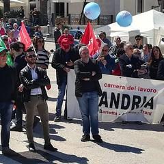 Primo Maggio a Trani: corteo e comizio in Piazza Quercia