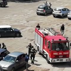 Vigili del fuoco a San Domenico