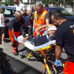 Incidente via Bisceglie