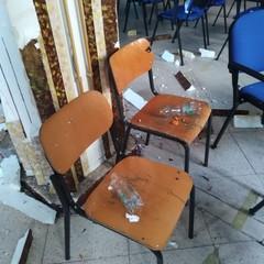 atti vandalici alla Baldassarre