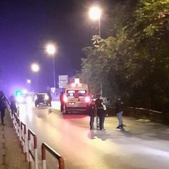 Incidente sul ponte di via Istria