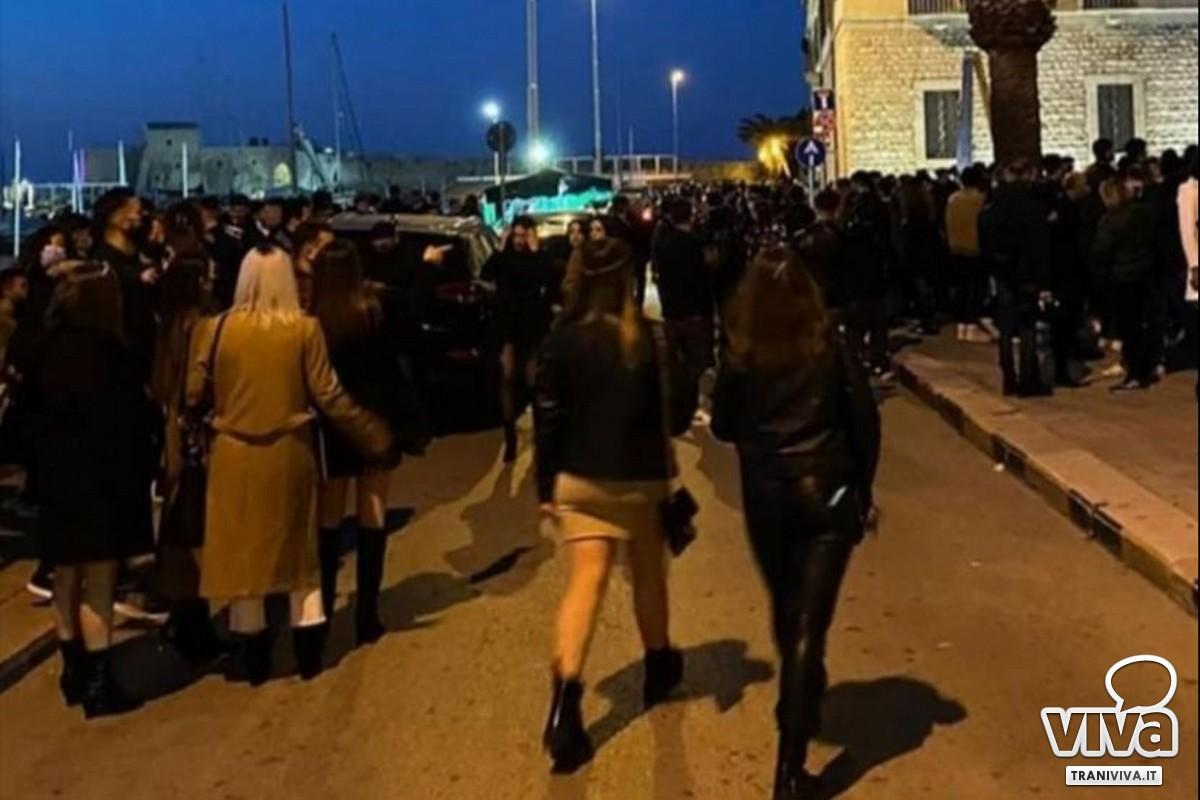 Folla sul Porto