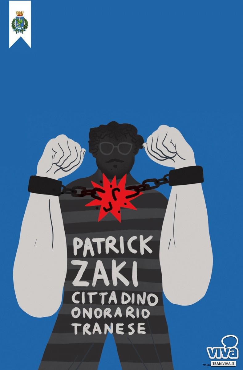 Patrick Zaki è cittadino onorario di Trani