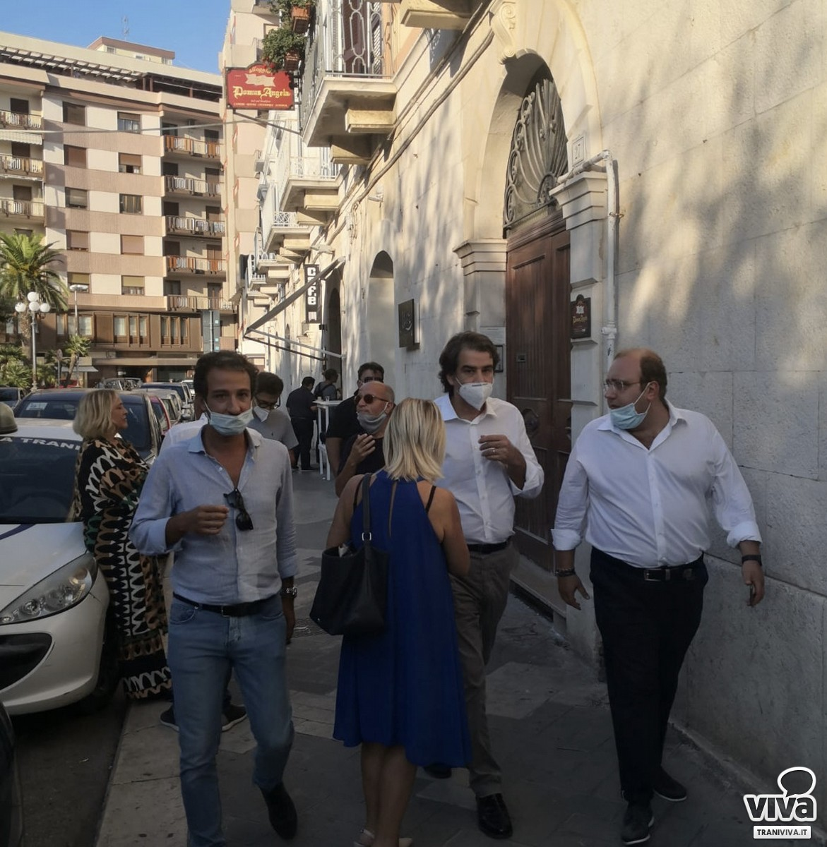 Raffaele Fitto a Trani